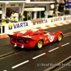 CanAm '67, Racer Ferrari 350P CanAm, Laguna Seca 1967