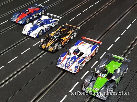 Scalextric MG-Lola EX257 (B01/60), Le Mans 2001-07