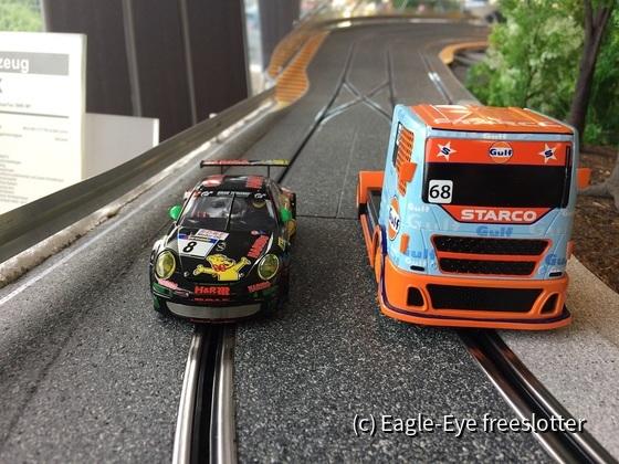 Scalextric Race Truck Gulf 3