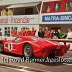 LeMans'67, MRRC Ford GT40 Mk.IV