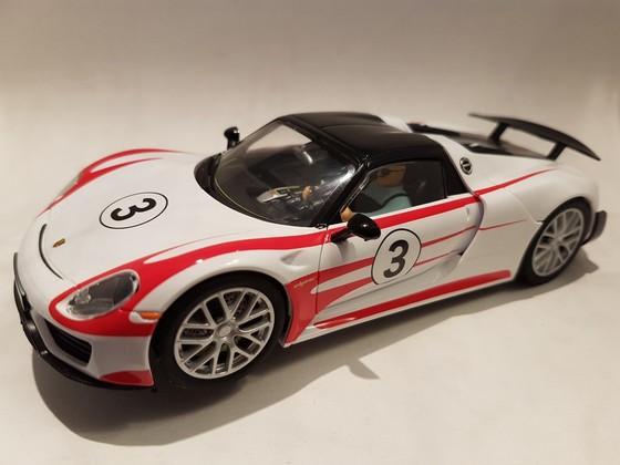 Cayrrera Porsche 918 Spyder