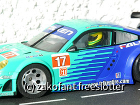 Carrera 124 Porsche GT3 in Umbauphase