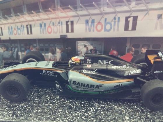 Scalextric Force India Perez