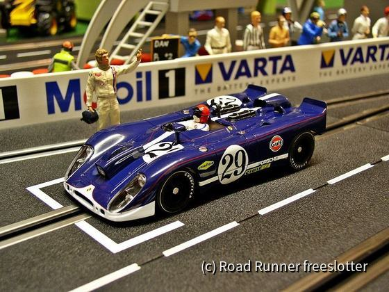 Fly Porsche 908 Flunder, Le Mans 1970