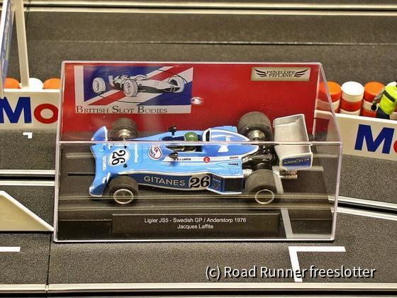 BSB Ligier JS5, Swedish GP 1976, Jacques Laffite