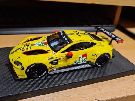 Evolution Aston Martin Vantage GTE #95