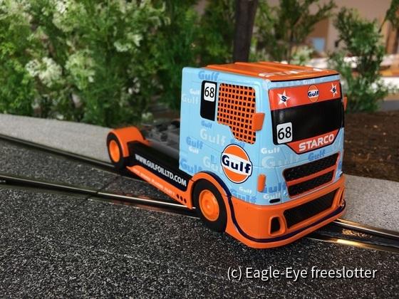 Scalextric Race Truck Gulf 1