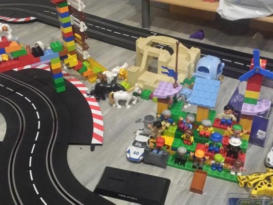 Bahndekoration einer 7jährigen