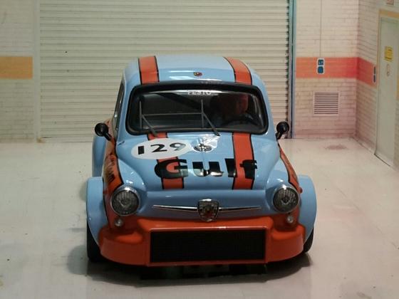 Fiat Abarth Gulf 06
