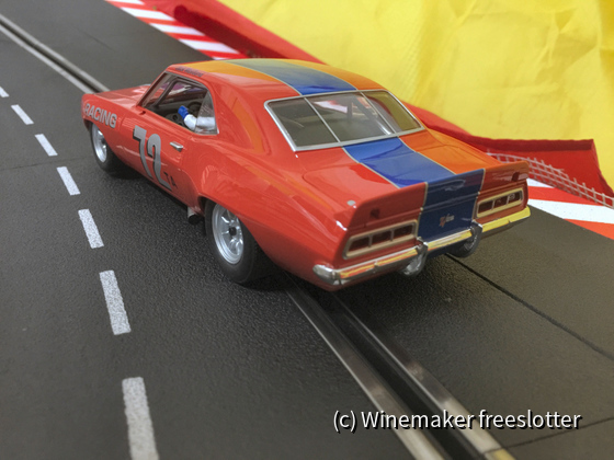 BRM Camaro #72 b
