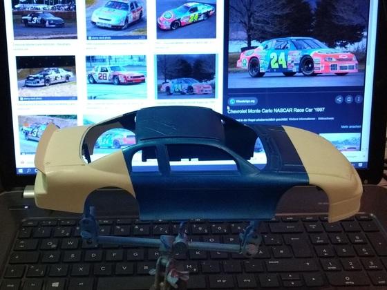NASCAR 1/24 auf Carrera Technik