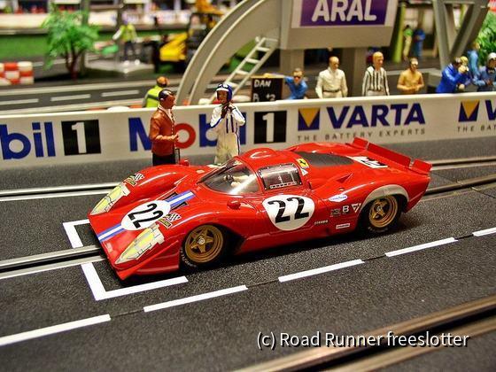 Racer Ferrari 312P Berlinetta, Sebring 1970