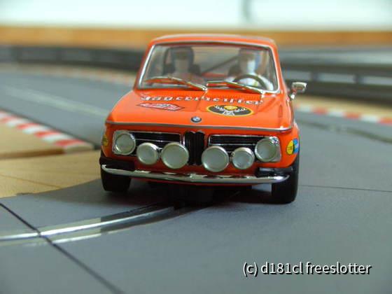 Spirit: 601307 - BMW 2002 Ralley - Jägermeister