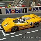 CanAm '67, Thunderslot McLaren M6A, Laguna Seca, Bruce McLaren