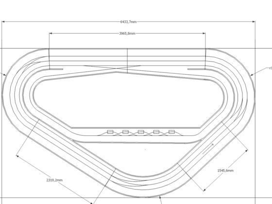 Routed Slottrack Nascar