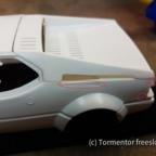 BMW M1 Bausatzfehler #1: Gussfehler