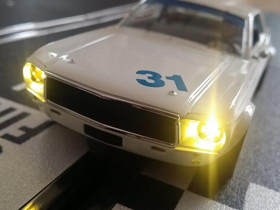 Umbau Pioner Mustang Nochtback