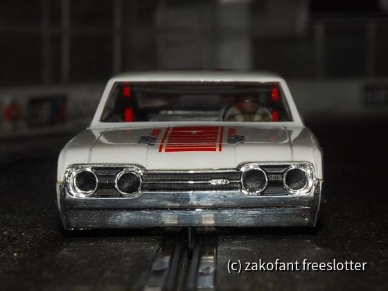 69-er Oldsmobil 1:24 digitalisiert auf SC-Chassis