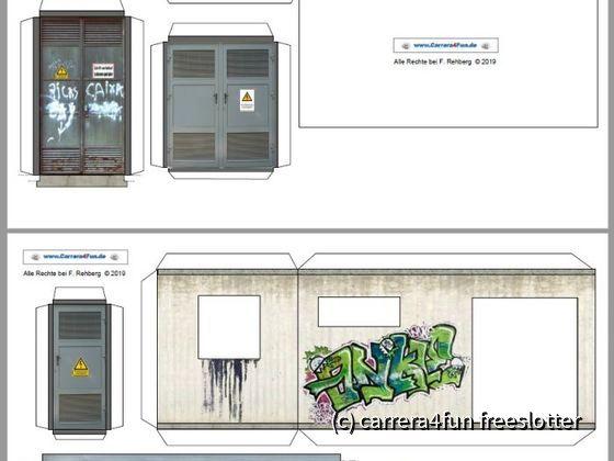 Update Trafohaus auf CarreraFun.de