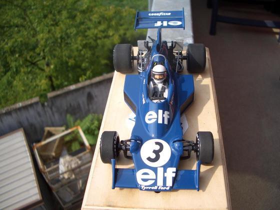 Tyrrell 007 Jody Scheckter