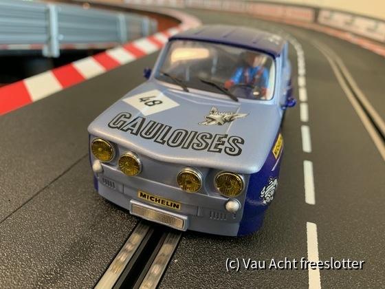 """R8 Gordini #48 """"Gauloises"""" - 012"""