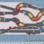 Bamberg Speedway - 500 x 250_180 - 2090 cm - Obere Ebenen