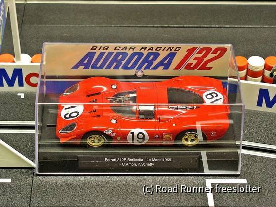 LeMans'69, Aurora Ferrari 312P Berlinetta