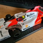 JK Open Box McLaren Honda Marlboro Ayrton Senna