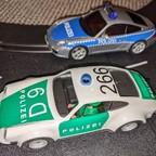 Porsche 911 Polizei im Wandel der Zeit (D132&Flm)