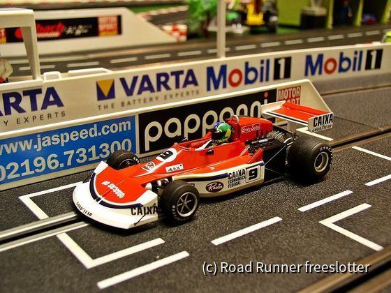 F1 '77, Fly March 761, Alex Ribeiro