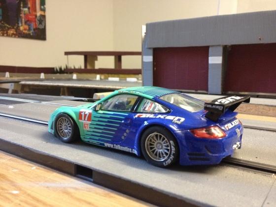 Umbau Falken Porsche