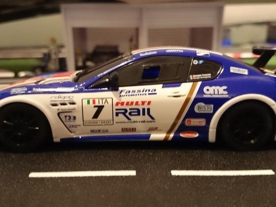 Scalextric Maserati Trofeo