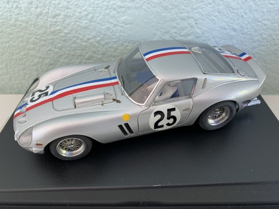 Silverline Ferrari 250GTO F.Travano Racing `Le Mans 1963