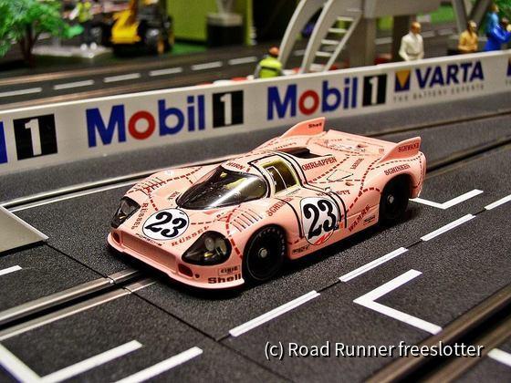 """Le Mans Miniatures, Porsche 917/20 """"Pink Pig"""", Le Mans 1971"""