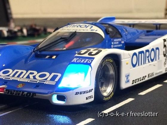 BRM Porsche Omron