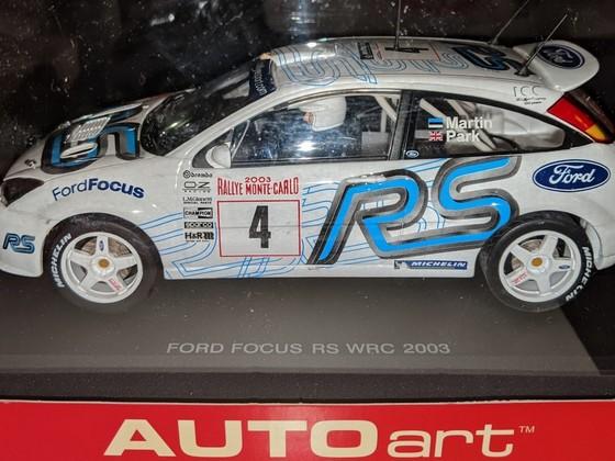 AutoArt 1/24 Ford Focus WRC 'Märtin' #4
