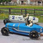 VRC&G Miller 91 vs. Delage 15S8, 1929 Indianapolis 500