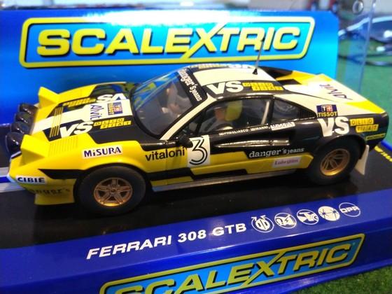 Scalextric Ferrari 308 GTB Rally