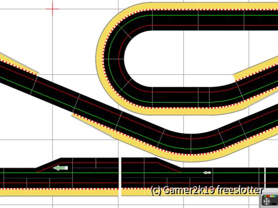 3,55mx1,59m Scalextric Sport Digital