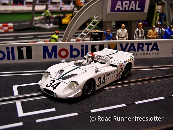 Proto Slot - Ghost Models, Healey SR XR37 Repco, Le Mans 1970