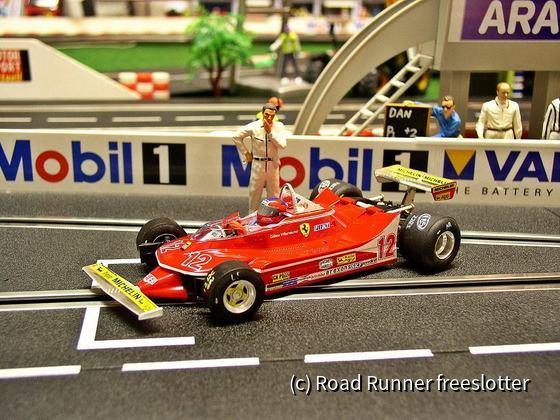 F1 '79, SRC Ferrari 312T4, Gilles Villeneuve