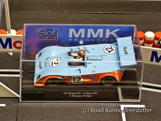 MMK Gulf-Mirage GR7, Le Mans 1974