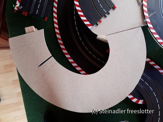 8mm Spanplatten zur Verstärkung der Überführungen