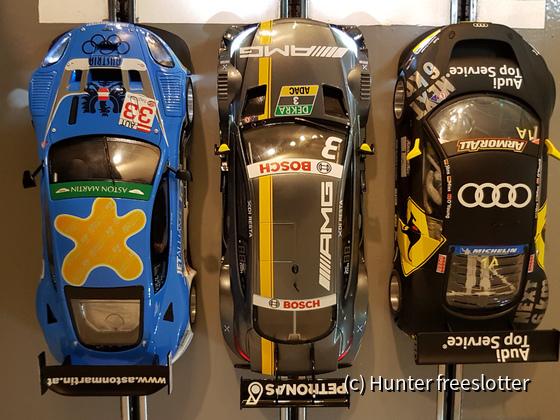 ASRC D124 DTM AMG vs Aston DBR9 vs Audi R8