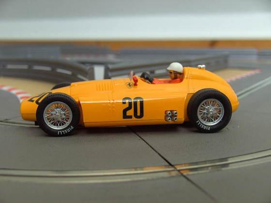 Cartrix 968 - Ferrari D50 yellow - #20