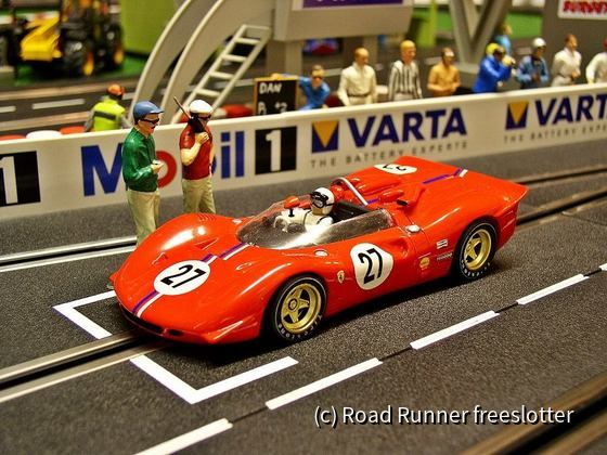 Proto Slot Ferrari 350P4, CanAm 1967