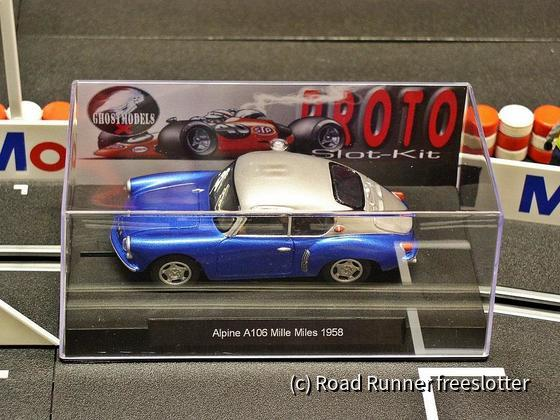 Proto Slot - Ghost Models, Alpine A106 Mille Miles 1958