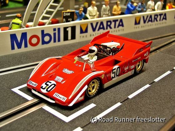 Top Slot Ferrari 712P, CanAm 1971