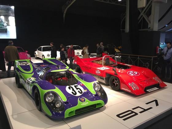 """""""70 Jahre Porsche"""" Autosalon Brüssel Januar2019"""