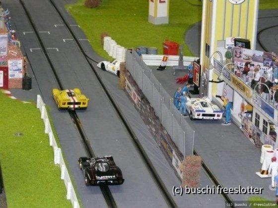 Start Ziel Boiler Room Raceway
